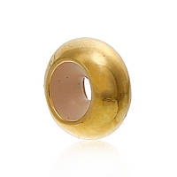 Бусина Круглая, Медь, Цвет: золото, 8 мм, Отверстие: примерно 2 мм
