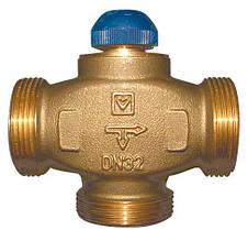"""Трехходовый термостатический клапан HERZ (ГЕРЦ) CALIS-TS-RD DN 20 резьба 1""""Н (1776139)"""