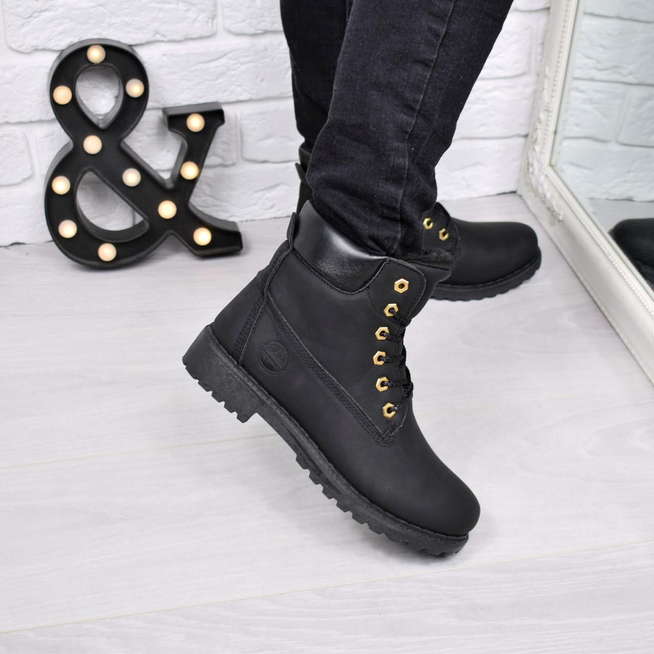 3030e82c1654 Ботинки женские Timber черные Зима 3778,Размер 39, ботинки женские -  Интернет - магазин