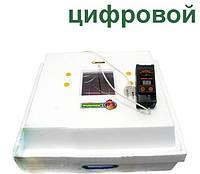 Инкубатор для яиц Рябушка ИБМ-70 с механическим переворотом и цифровым терморегулятором