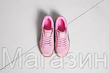 Женские кроссовки Puma Suede Creeper by Rihanna Пума Рианна Крипер розовые, фото 3
