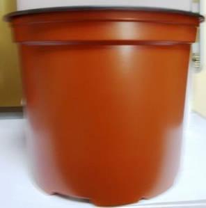 Горщик для розсади 17см 2л коричневий