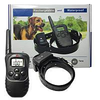 Аккумуляторный электронный ошейник для дресировки собак Petrainer (водонепроницаемый)