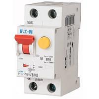 Дифференциальный автоматический выключатель PFL7-10/1N/B/003 (263434) Eaton, фото 1