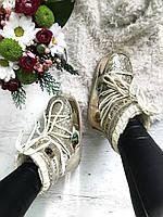 Chiara Ferragni Womens Snow Boots Cream/ луноходы/ мунбутсы