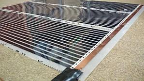 Инфракрасный пленочный теплый пол Luchi (80 см) 1 мп/110 Вт.м