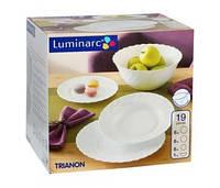 Сервиз столовый 19 предметов Luminarc Trianon