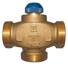 """Трехходовый термостатический клапан HERZ (ГЕРЦ) CALIS-TS-RD DN 32 резьба 1 1/2""""Н (1776141)"""