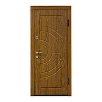 Двери входные ПО-08 дуб золотой 860*2050 R (правая)