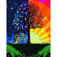 """Пейзаж """"Дерево щастя"""" 40*50см"""