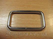 Рамки для сумок (40мм) никель, 20шт 4134