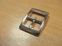Пряжки для сумок (19мм) никель, 10шт 4854