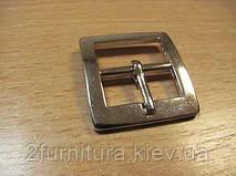 Пряжки для сумок (20мм) никель, 4шт 4790