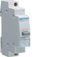 SVN321 Выключатель кнопочный обратной 230В / 16А, 1НВ Хагер