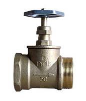 Вентиль пожарный ДУ-50 латун/прямой (вн/нар)