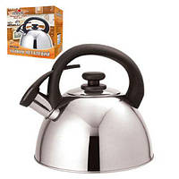 Чайник со свистком двойное дно Stenson МH-0238 2,5л. Отличное качество. Практичный дизайн. Код: КДН2437