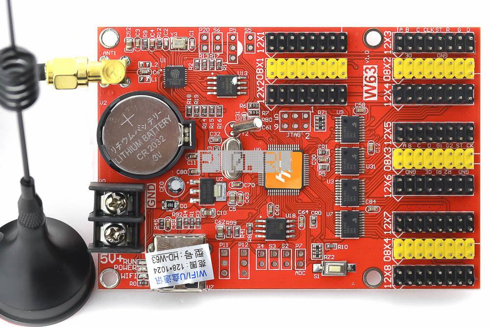 Контроллер для led дисплея P10 HD-W63 + Wi-Fi - Ledcorp светодиодное освещение в Одессе