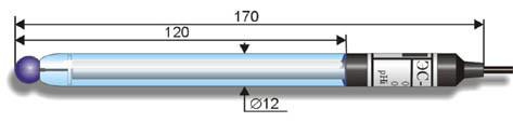 Лабораторный pH-электрод ЭС-10601 (ЭСЛ-43-07)