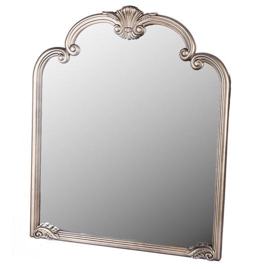 Подвесное-настенное зеркало с вензелями