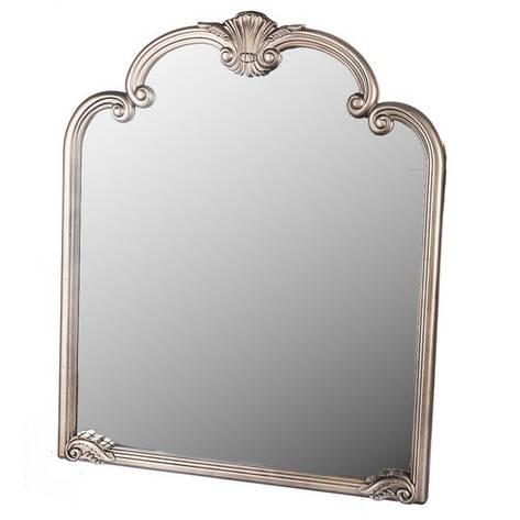 Подвесное-настенное зеркало с вензелями, фото 2