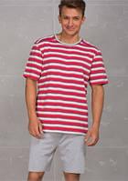 Хлопковый мужской домашний комплект / пижама MNS 371 A6