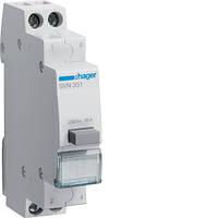 SVN351 Выключатель кнопочный обратной 230В / 16А, 1НВ + 1НВ Хагер