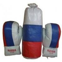 Набор бокс (Россия). В комплекте: перчатки, груша.