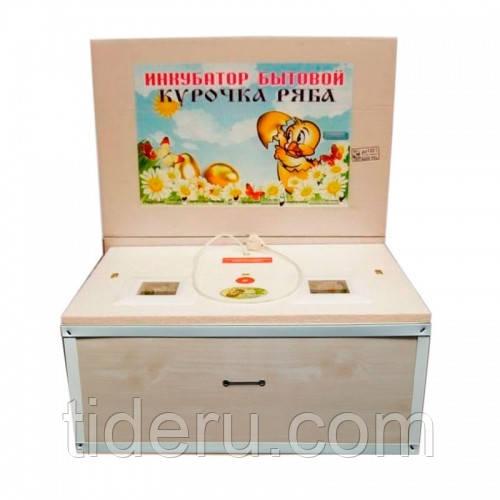 Инкубатор Курочка Ряба 100 яиц с механическим переворотом и аналоговым терморегулятором