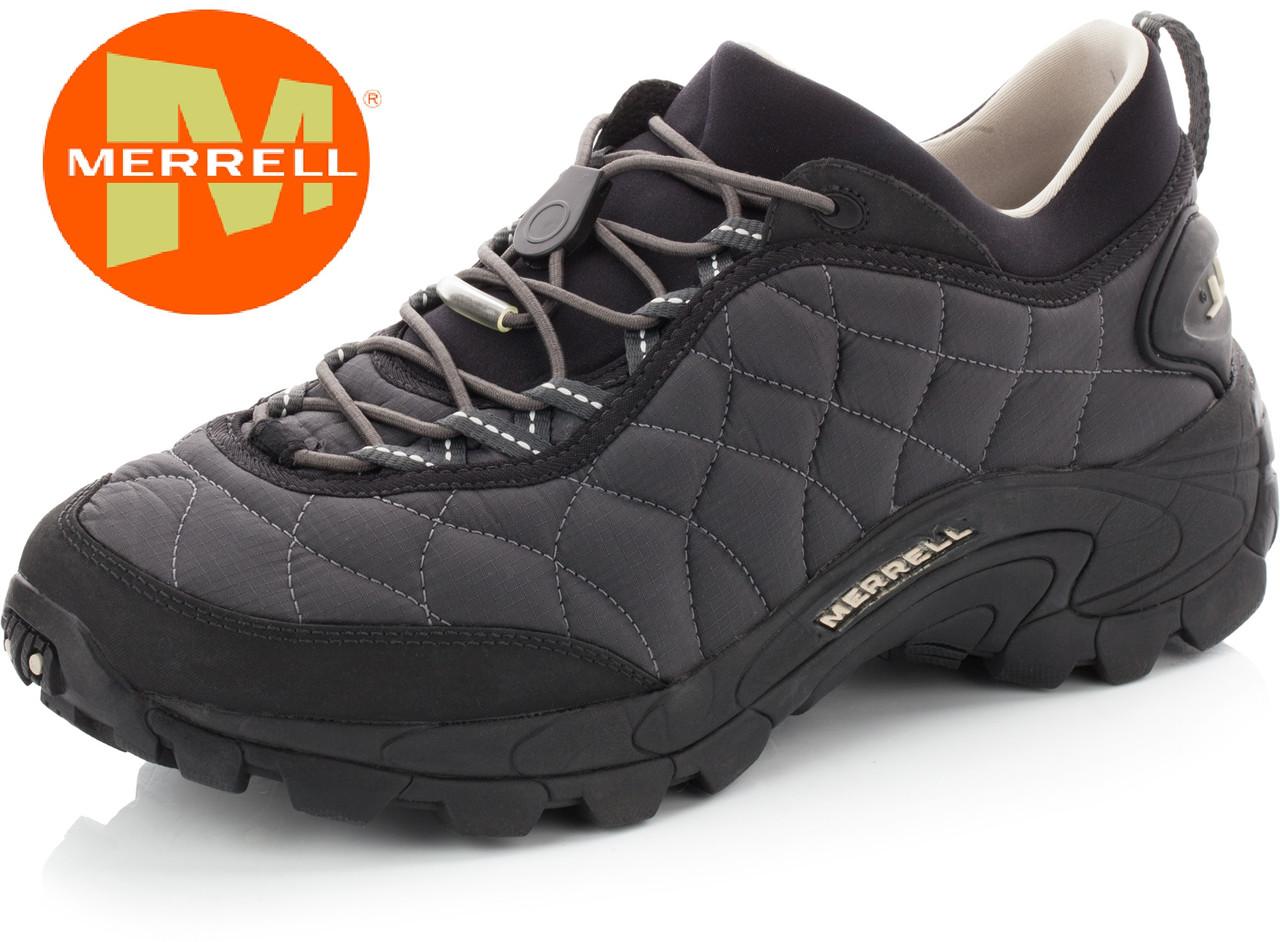 Оригинал кроссовки Merrell Ice Cap Moc II J61389  cеро-черные 39410c0a4c11e