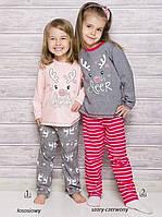 Новогодняя Детская пижама с оленем Taro 1167