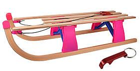 Санки складные деревянные WODAR до 50кг
