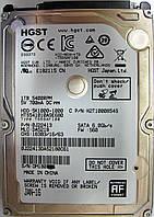 HDD 1TB 5400 SATA3 2.5 Hitachi HTS541010A9E680 неисправный DM1808KK