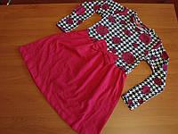 Платья для девочки тонкий трикотаж размер 4- 6 лет