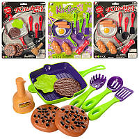 Посуда P3014-P2814 сковородка, кухонный набор, продукты