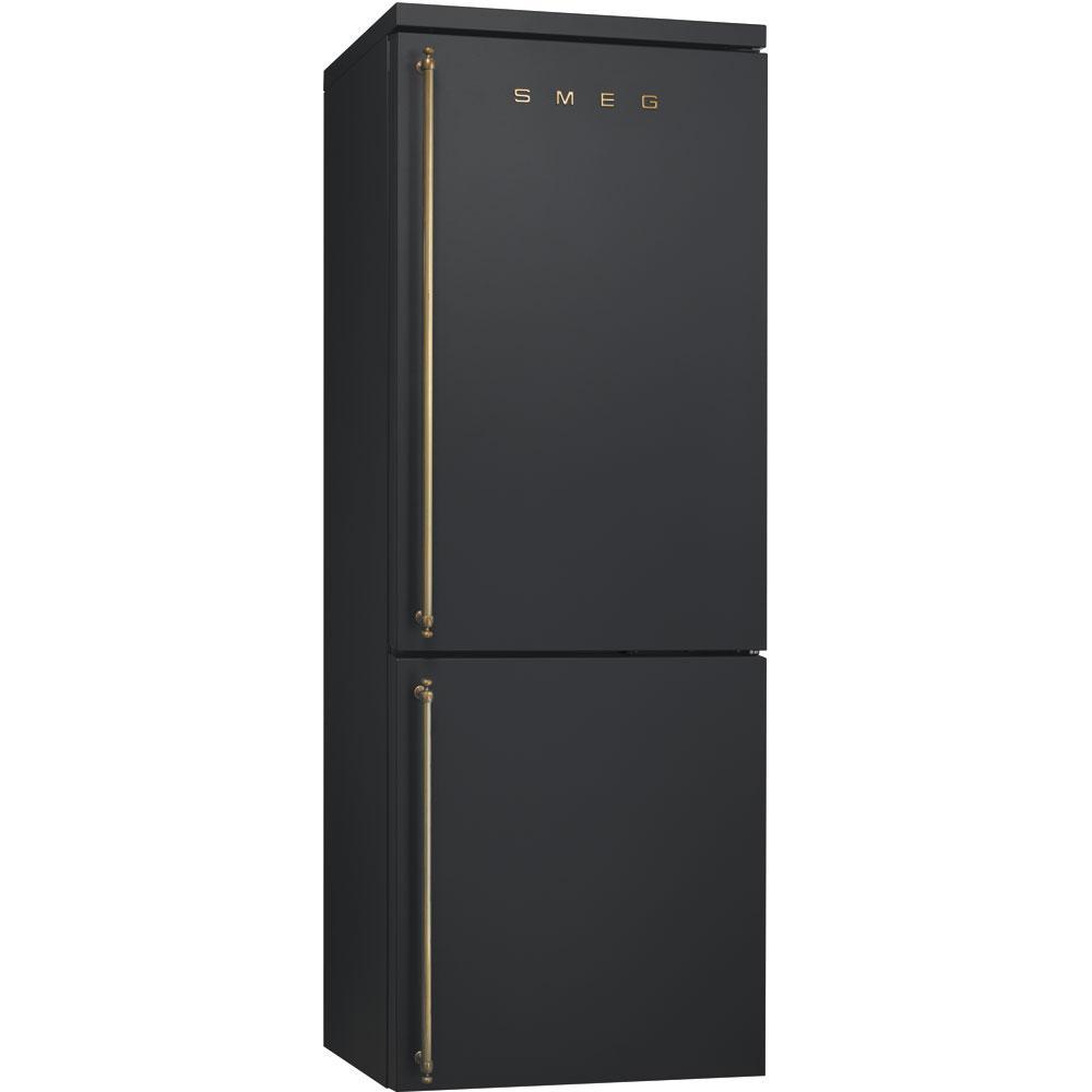 Отдельностоящий холодильник Smeg FA8003AO антрацит