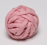 Велика пряжа TERMO. Товщина 2.5 див. 100 % вовна мериноса. Колір - Рожевий