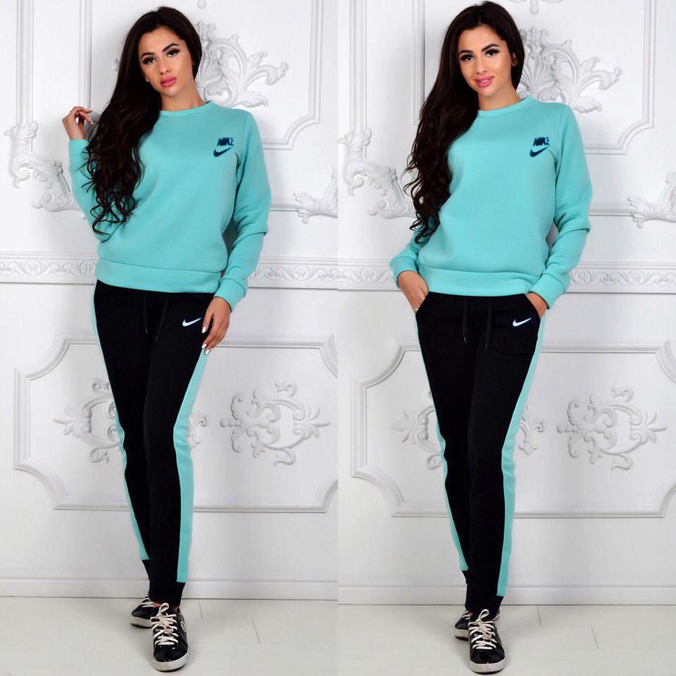 064531aa Теплый женский спортивный костюм Nike - Интернет-магазин спортивной одежды