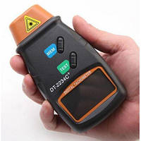 Цифровой фото тахометр высокого качества. Лазерный бесконтактный тахометр. Доступная цена. Код: КДН2438