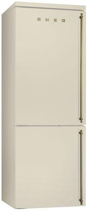 Отдельностоящий холодильник Smeg FA8003POS кремовый