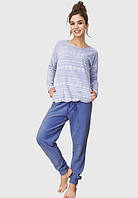 Флисовый домашний комплект / теплая пижама KEY LHS 610 B6