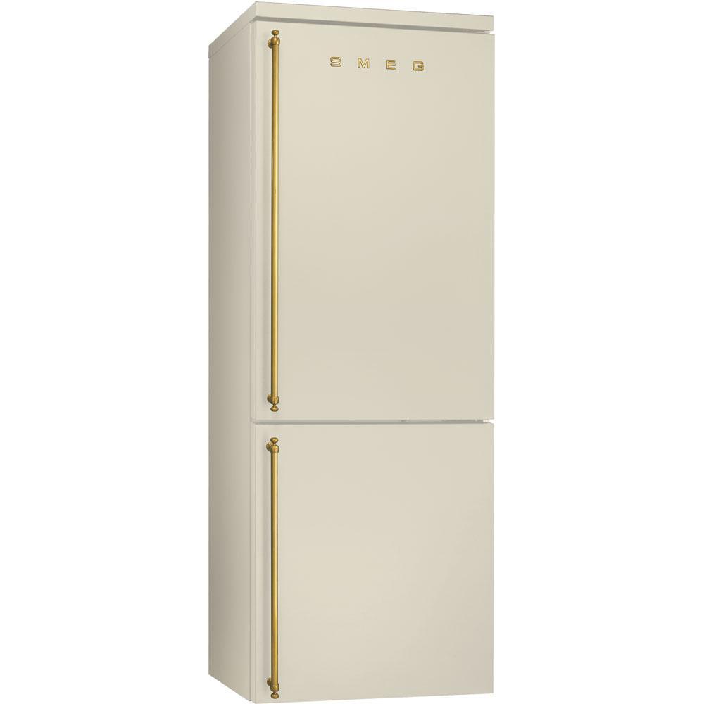Отдельностоящий холодильник Smeg FA8003P кремовый, фото 1
