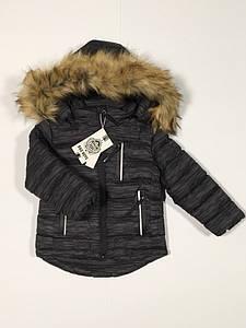 Зимняя куртка для мальчика Польша размер 1-5