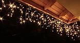 Новогодняя гирлянда Бахрома 500 LED, Белый теплый свет, 18 м, 22W, фото 5