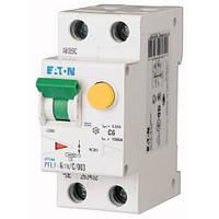 Диференційний автоматичний вимикач PFL7-6/1N/C/003 (263432) Eaton, фото 1