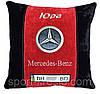 Подушка сувенирная в машину с логотипом мерседес Mercedes
