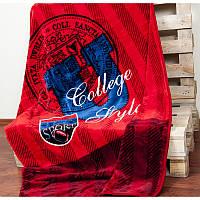 Плед-покрывало Karaca Home - College красный 160*220 полуторный