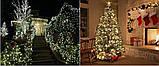 Новогодняя гирлянда 200 LED, Длина 16m, Белый теплый свет, фото 2