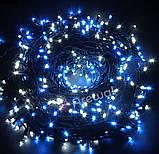 Новогодняя гирлянда 100 LED, Длина 8M, Белый холодный свет,кабель 2,2 мм, фото 4