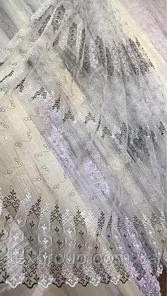Тюль фатин турецкий чёрный 700, фото 2