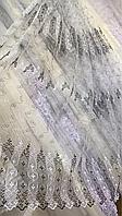 Тюль фатин турецкий чёрный 700